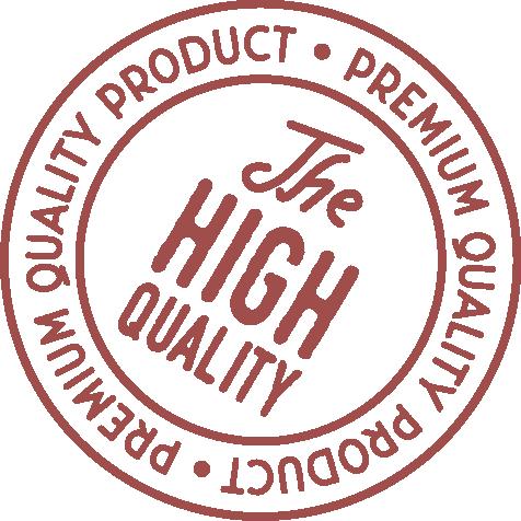 premium quality product stamp